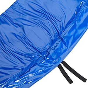 hudora rahmenpolsterung f r trampolin 305 cm pvc blau gr n top preis de trampolines. Black Bedroom Furniture Sets. Home Design Ideas