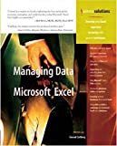 img - for Managing Data with Excel by Carlberg, Conrad [Que Publishing,2004] [Paperback] book / textbook / text book