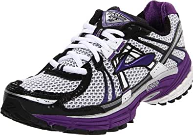 Brooks Women's Adrenaline GTS 12 Running Shoe,Acai/Black/White,10.5 B US