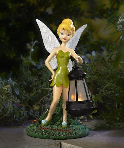 12 tinkerbell solar lantern garden statue niftywarehouse - Tinkerbell statues ...