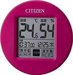 CITIZEN high in precision temperature hygrometer u0026 Watch with pop color compact model life Navi Petit A 8RD208-A13