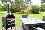 La Hacienda Steel Pizza BBQ Oven Chiminea