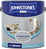 Johnstones Vinyl Soft Sheen 5L Manhattan Grey