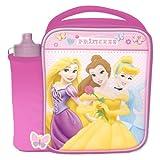 Spearmark Disney Princess Lunch Bag and Bottle Combo