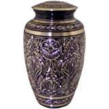 Star Legacy Majestic Radiance Brass Urn with Velvet Gift Box, Large/Adult