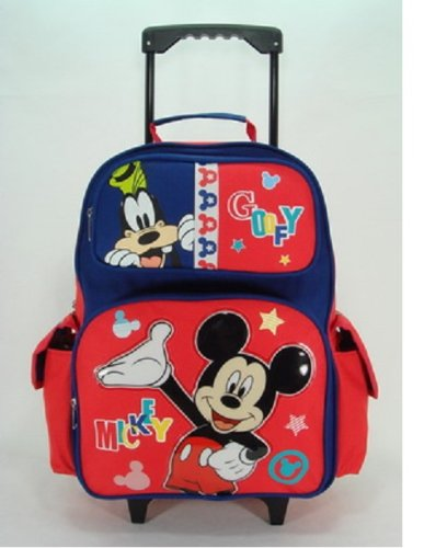 Rolling Backpack - Disney - Mickey Mouse - Sunshine (16 Large Backpack)