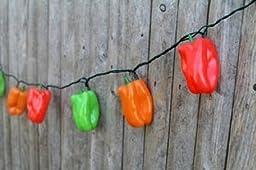 DEI Pepper String Lights, Tri-Color by DEI
