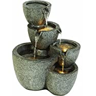 Do it Best Global Sourcing WXF02161-4 Multi Vase Fountain-MULTI VASE FOUNTAIN