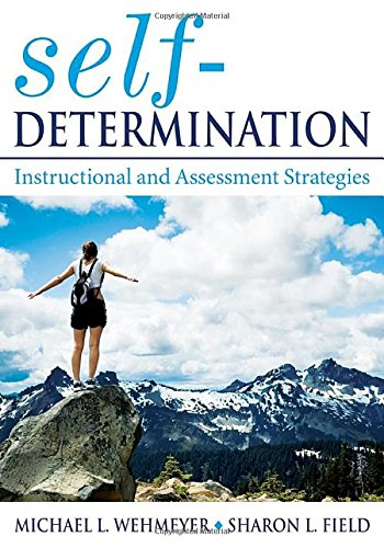 Self-Determination: Instructional and Assessment Strategies PDF