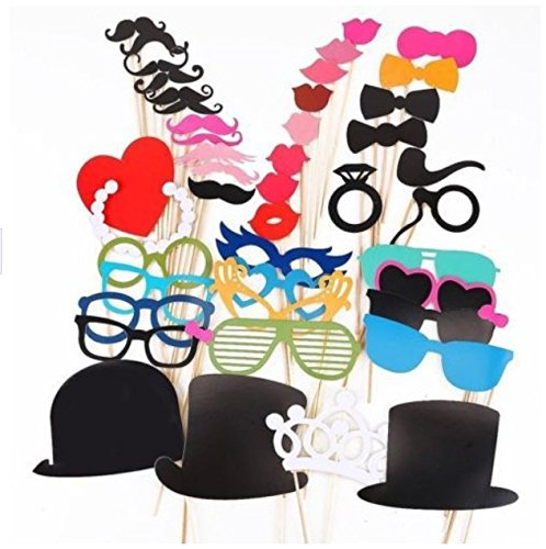 44pcs-fun-photo-booth-prop-lip-colorful-card-on-a-stick-wedding-decoration-favor-festive-party-suppl