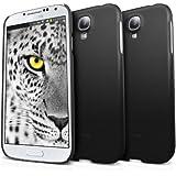 Galaxy S4 Funda - Ringke SLIM Funda [Bueno Agarro][SF MATTE BLACK] Funda Hard Prima Dual Coated para Samsung Galaxy S4 - Eco Paquete