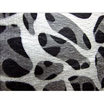 Dovedote Safarina Zebra Animal Print Comforter Set, Queen - Black White