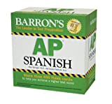 img - for Barron's AP Spanish Flash Cards book / textbook / text book