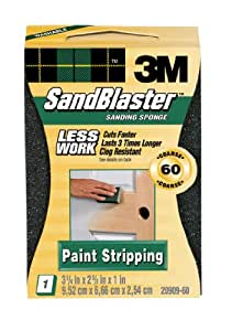 3M Paint Stripping Sponge, 60-Grit