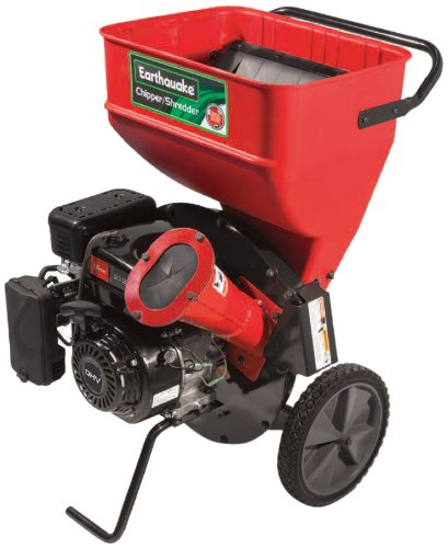 Best Review Of Earthquake 14267 Chipper Shredder with 212cc 4-Cycle Viper Engine