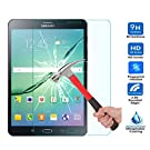 Galaxy Tab S3 8.0 Screen Protector, IVSO® Tempered-Glass Protector with [9H Hardness][Crystal Clearity][Scratch-Resistant][No-Bubble Easy Installation] for Samsung Galaxy Tab S3 8.0, Lifetime Warranty