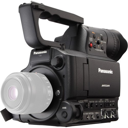 Panasonic AG-AF105A Micro Four Thirds Camcorder, Full HD Progressive Recording And 24PsF 10 bit (AGAF100A)