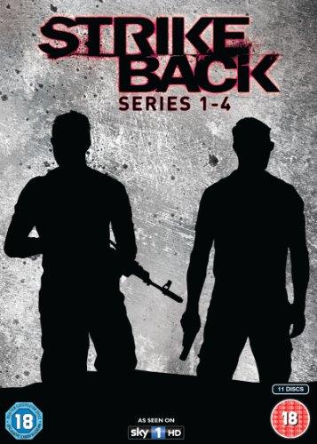 Strike Back - Series 1-4 Box Set [DVD]