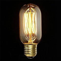 KINGSO E27 40W 220V T45 Edison Lampe Warmweiß Vintage Stil Glühbirne Retro Licht