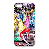 Iphone 5 5S Zombie Princess Design TPU Case Cover,Iphone 5 5S Shell Protector