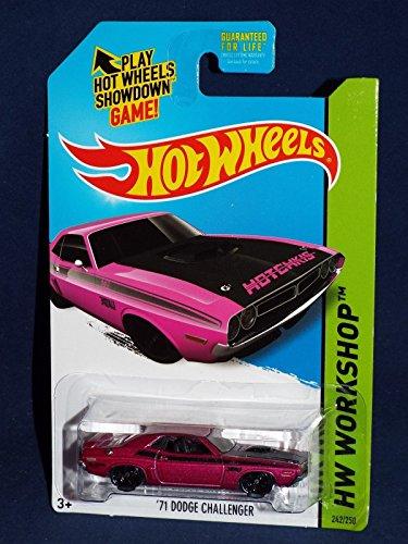 2014 Hot Wheels Kmart Exclusive Hw Workshop - '71 Dodge Challenger (Purple)