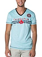 CANADIAN PEAK Camiseta Manga Corta Joga (Azul Claro)