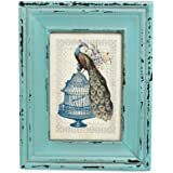 Heritage Turquoise Rectangular Picture Frame