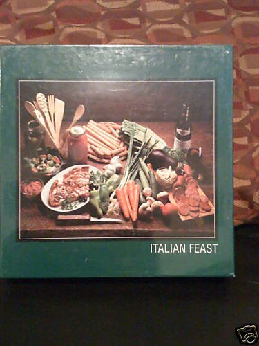 PUZZLEMAKERS INTERNATIONAL 500 PIECE PUZZLE--ITALIAN FEAST