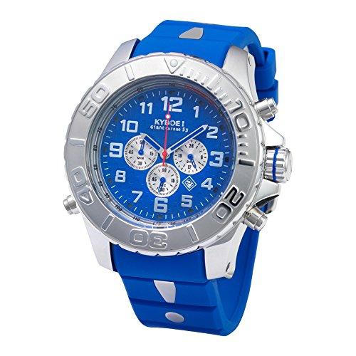 Kyboe! Reloj analógico de cuarzo colour azul KYM-003-55