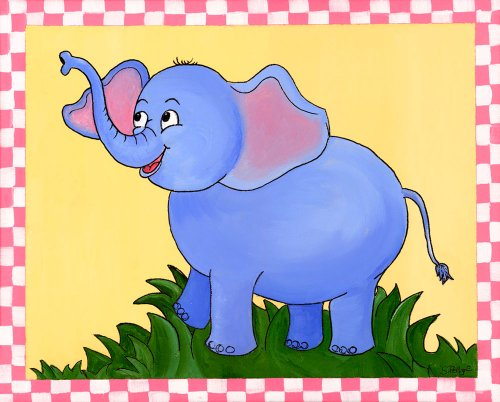Jungle Bundle Wall Art, Baby Elephant