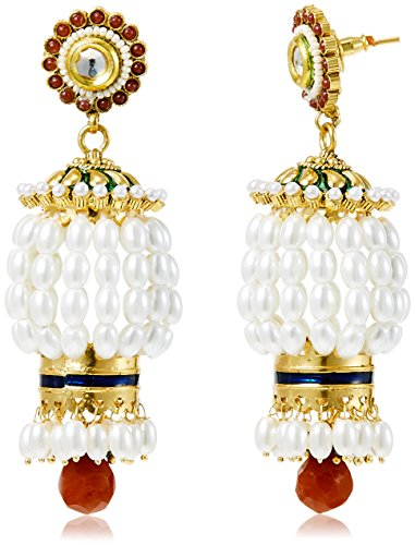 Sia Sia Art Jewllery Drop Earrings For Women (Multi-Color) (AZ1344) (Multicolor)