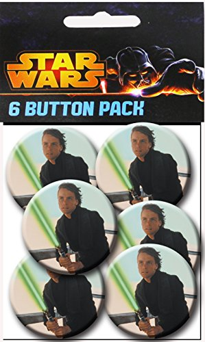 C&D Visionary Star Wars Luce Fight 1.5 Inch Button, (6-Piece) - 1