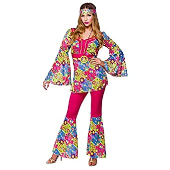 Feeling Groovy Hippie - Adult Costume Lady : SMALL