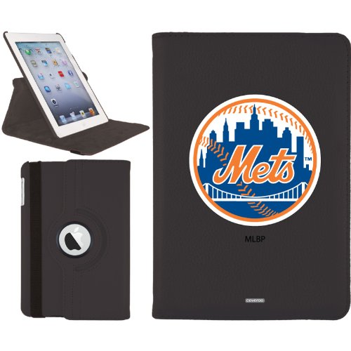 New York Mets design on a Black iPad Mini Swivel Stand Case by Coveroo at Amazon.com