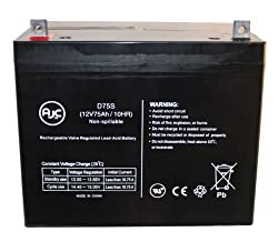 C&D Dynasty UPS12-300MR 12V 75Ah UPS Battery : Replacement