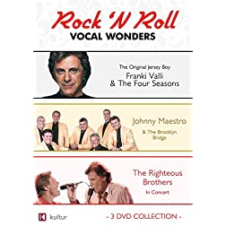 Rock 'N Roll Vocal Wonders: Frankie Valli, Johnny Maestro, Righteous Brothers