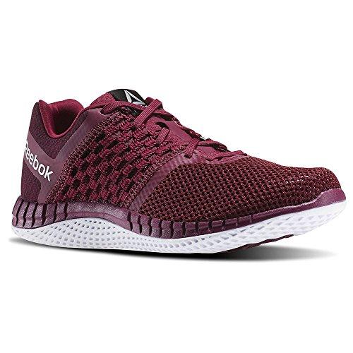 Reebok Women's Zprint Run Hazard GP Walking Shoe, Rebel Berry/Mystic Maroon/White, 5.5 M US (Reebok Running Shoes Women compare prices)