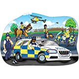 Orchard Toys Police Car Puzzle (Big), Multi Color