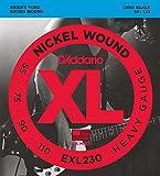 【国内正規品】D'Addario ダダリオ ベース弦 ニッケルワウンド Heavy(55-110) ロングスケール EXL-230 EXL230