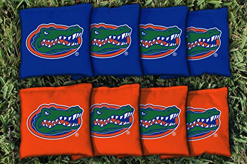NCAA Replacement Corn Filled Cornhole Bag Set NCAA Team: Florida Gators (Florida Gators Corn Hole compare prices)