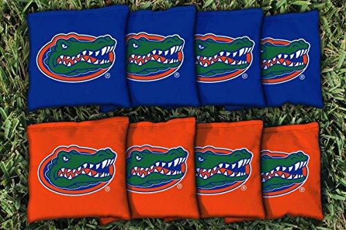 NCAA Replacement Corn Filled Cornhole Bag Set NCAA Team: Florida Gators (Gator Corn Hole Bags compare prices)