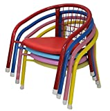 Toddler Indoor Outdoor Stackable Camping Chairs. (choose quantity and color)