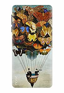 Noise Designer Printed Case / Cover for Intex Aqua Lions 3G / Nature / Butterflies Design