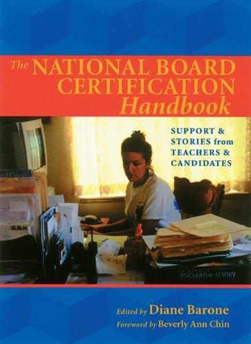 The National Board Certification Handbook
