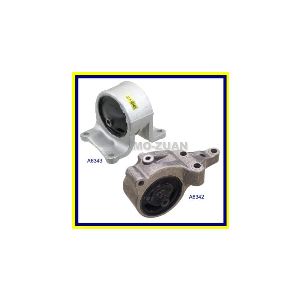 A6343 A6342 Fits 93 99 Nissan Altima 2.4L Transmission Engine Motor Mount DEA A6342 A6343 112101E813 112201E810 93 94 95 96 97 98 99 Automotive