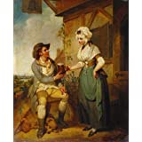 At the Inn Door, by Henry Singleton (V&A Custom Print)