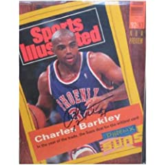 Buy Charles Barkley autographed Sports Illustrated Magazine (Phoenix Suns) by Autograph Warehouse