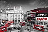 London Piccadilly Circus Poster (91,5cm x 61cm) + plus fabulous protective gift tube