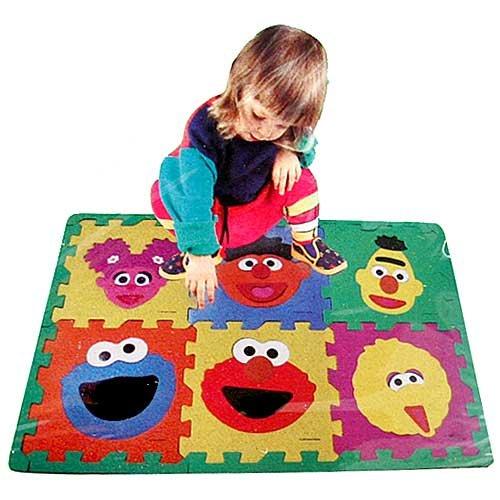 Cheap Fun Sesame Street Make-A-Face Floor Puzzle (B0042P8YNY)