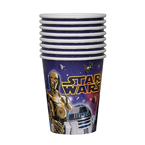 Star Wars 9oz Paper Cups [8 Per Pack] - 1